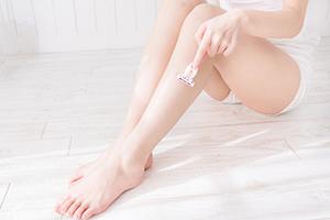 肌トラブルをなくす剃刀の正しい使い方