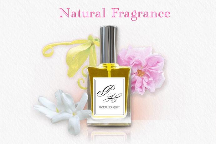 アロマオイルで作った天然オーガニック香水
